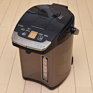TIGER - タイガー 蒸気レス 魔法瓶 とく子さん PIG-S300(3.0L) 電気ポット