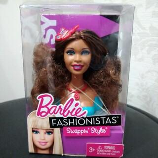 Barbie - ①バービー スイッチスタイル 交換用ヘッド アーティ 人形