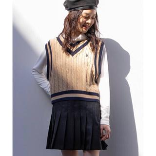 WEGO - プリーツミニスカート ブラック