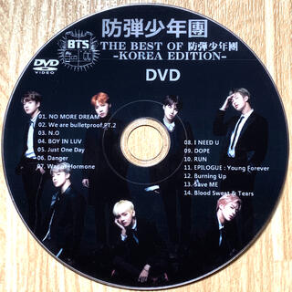 防弾少年団(BTS) - BTS THE BEST OF 防弾少年団-KOREA EDITION- DVD