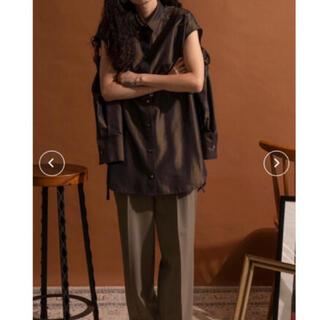 Ameri VINTAGE - Maison special 2wayスリーブビッグシャツ