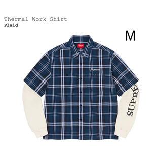 """Supreme - Supreme Thermal Work Shirt """"Plaid"""""""