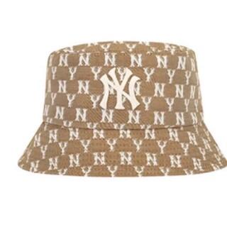 NEW ERA - 新品 ベージュ MLB  ニューエラ 帽子 バケットハット 韓国ファッション