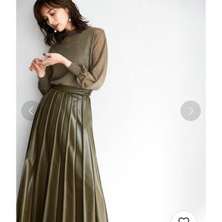 FRAY I.D - フレイアイディー♡ピンタックレザープリーツスカート