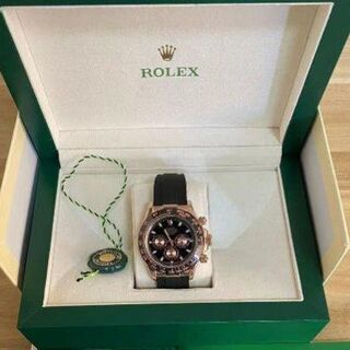ROLEX - ロレックス 116515LN デイトナ ブラック×ピンク