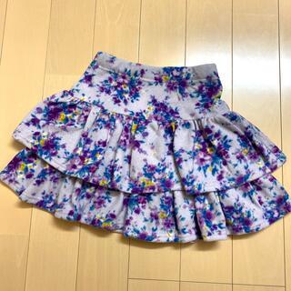 アナスイミニ(ANNA SUI mini)のANNA SUImini 140【新品】♡お花♡(スカート)