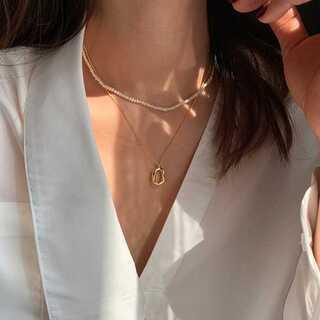 ユナイテッドアローズ(UNITED ARROWS)の#1016 import neckless : natura gold(ネックレス)