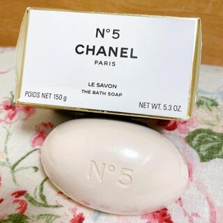 CHANEL - シャネル N°5サヴォン 石鹸