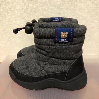ミキハウス(mikihouse)の美品♡mikihouse ボアブーツ 15㎝ ミキハウス  ムートンブーツ(ブーツ)