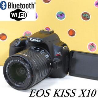 Canon - 画像自動転送★Bluetooth Wi-Fi★キヤノン EOS KISS X10