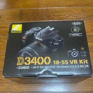 Nikon - ニコン Nicon D3400 18-55 VR Kit ほぼ未使用 長期保証有