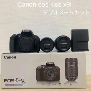 Canon - Canon キャノン EOS KISS x9i Wズームキット