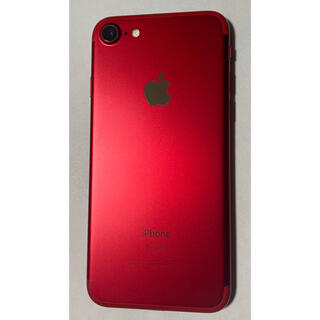 Apple - iPhone7 PRODUCT RED 256GB ジャンク品