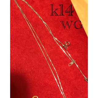 k14 WG ネックレスチェーン 45センチ