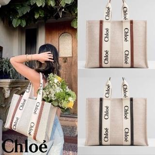 Chloe キャンバストートバッグ🔥