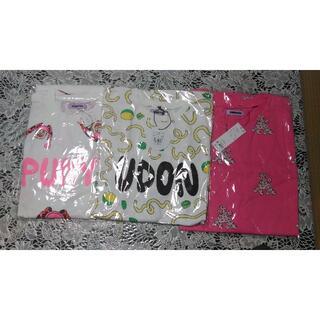 PUNYUS - プニュズ Tシャツ 4 プードル うどん 直美ちゃん 3枚組 新品