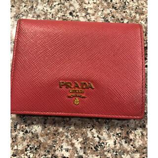 PRADA - プラダ  サフィアーノ 二つ折り財布 美品