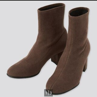 ユニクロ(UNIQLO)の新品 ユニクロ ストレッチショートブーツ(ブーツ)