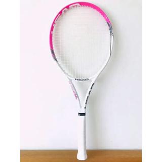 ヘッド(HEAD)の【美品】ヘッド『チャレンジライト』テニスラケット/初心者/女性/ピンク/G1(ラケット)