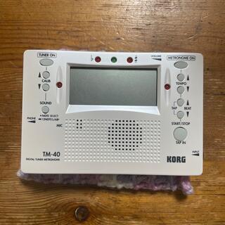 KORG - デジタルチューナー&メトロノーム KORG TM 40