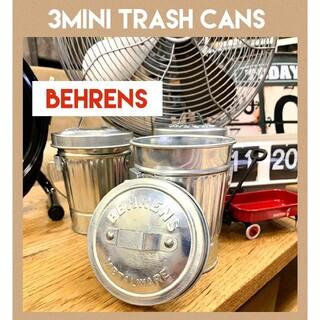 収納★小物入れ★3缶セット★ベーレンス★3MINI TRASH CANS★(小物入れ)