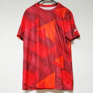 asics - アシックス グラフィックシャツ 半袖 L