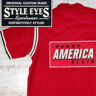 東洋エンタープライズ - スタイルアイズ,ボウリングシャツ,東洋エンタープライズ、刺繍L size