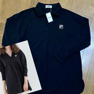 フィラ(FILA)のフィラ鹿の子チュニックポロシャツL新品未使用(ポロシャツ)