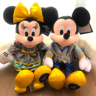 Disney - WDW ウォルトディズニーワールド 50周年 ミッキー ミニー ぬいぐるみ
