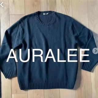 COMOLI - AURALEE オーラリー コットンウールカシミアニット サイズ5
