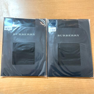 バーバリー(BURBERRY)のバーバリー タイツ2足セット(タイツ/ストッキング)