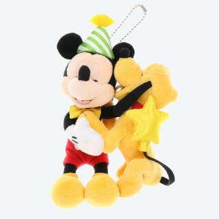 Disney - 新作♡ バースデー ミッキー プルート ぬいぐるみバッジ ディズニーリゾート