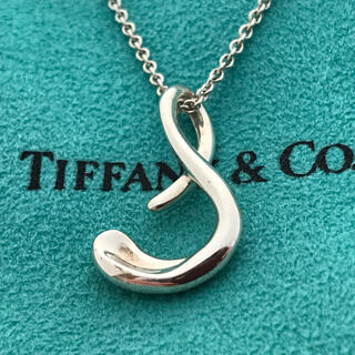 Tiffany & Co. - Tiffanyイニシャルs ロング チェーンネックレス