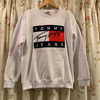 TOMMY - 【TommyJeans】トミージーンズ 刺繍ロゴ スウェット トレーナー