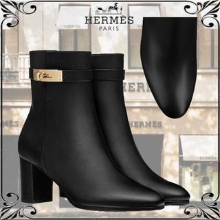 エルメス(Hermes)のエルメス サンジェルマン ブーツ ゴールド金具(ブーツ)