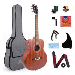 クラシックギター 初心者セット マカボニー素材【新品、送料無料】(アコースティックギター)