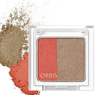 ORBIS - オルビス ツイングラデーションアイカラー アンティークレッド 8269