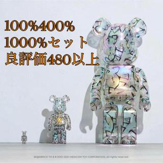 MEDICOM TOY - BE@RBRICK JIMMY CHOO 100/400/1000%セット