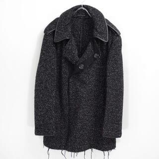 Yohji Yamamoto - 2004AW ヨウジヤマモト プール オム 手織り ツイード コート