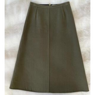BLAMINK ブラミンク ボックス ウール スカート 36