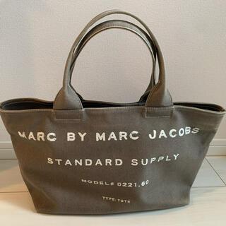 マークバイマークジェイコブス(MARC BY MARC JACOBS)の【美品】マークジェイコブス キャンバストート(トートバッグ)