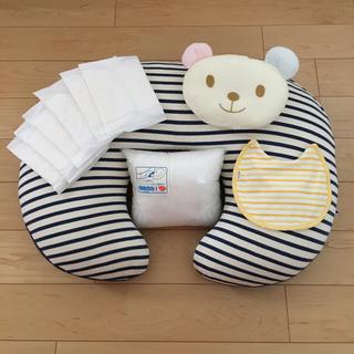 ミキハウス(mikihouse)の授乳クッション+授乳まくら+授乳スタイ ☆全てミキハウスです☆  授乳パッド(その他)