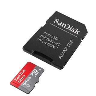 サンディスク(SanDisk)の新品 サンディスク microSD 64GB UHS-I Class10(PC周辺機器)