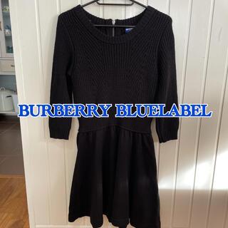BURBERRY BLUE LABEL - バーバリー ブルーレーベル ニットワンピース