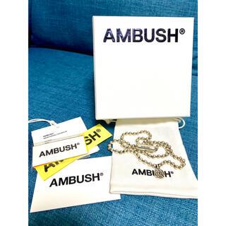 AMBUSH - 【新品未使用】 AMBUSH ボールチェーンネックレス 限定