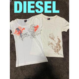 ディーゼル(DIESEL)のDIESEL Tシャツ 2枚セット(Tシャツ(半袖/袖なし))