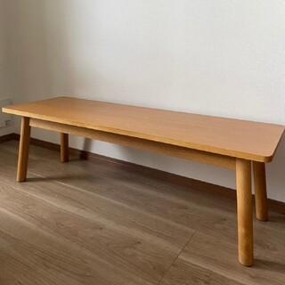 MUJI (無印良品) - 【福岡 手渡可】無印良品 リアルファニチャー  オーク材 テーブル 机