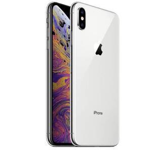アップル(Apple)のiPhone Xs Max Silver 256 GB docomo(スマートフォン本体)