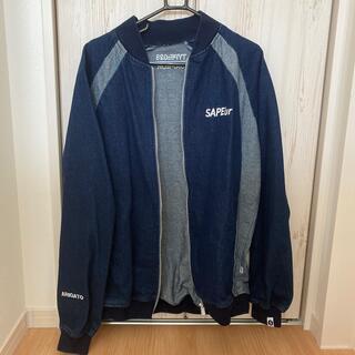Supreme - SAPEUR デニムトラックジャケット