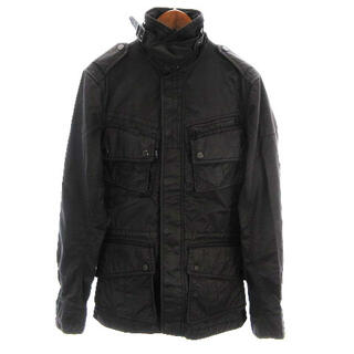 ラルフローレン(Ralph Lauren)のラルフローレン ジャケット ミリタリー M-65 コットン混 黒 S ■SM(ブルゾン)